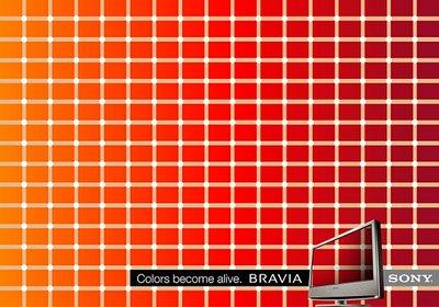 Sony Bravia LCD Billboard Optical Illusions