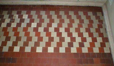 Bent Lines Illusion no.3
