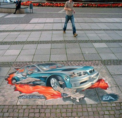 3D Street Art Optical Illusions