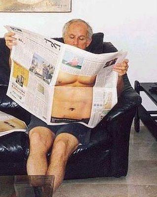 Transparent Newspapers