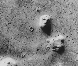 Face On Mars Famous Optical Illusion