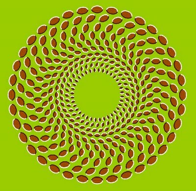 Spinning Donut Illusion