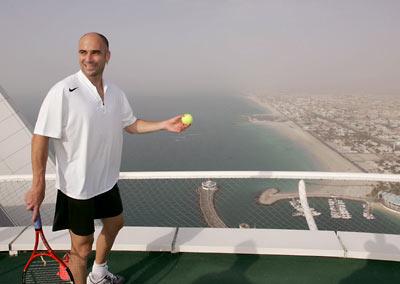 Highest Tennis Court In The World