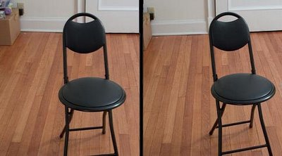 Chair Stereogram Optical Illusion