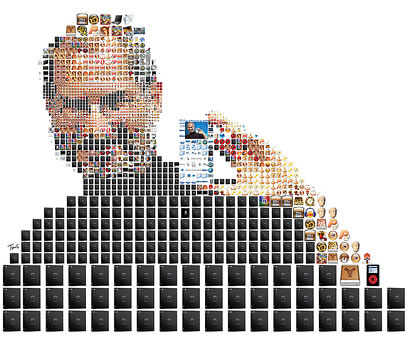 Steve Jobs Photomosaic