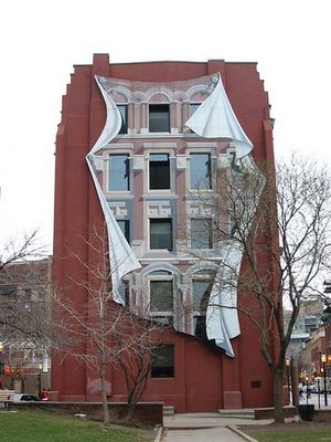Toronto Building Illusion