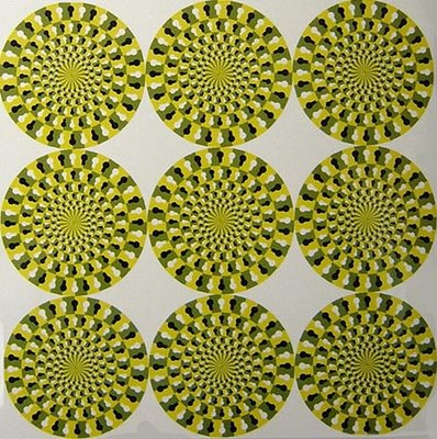 Rotating Snakes no.2 Illusion