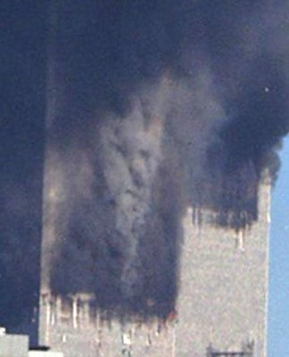 Image result for devil in smoke of twin towers