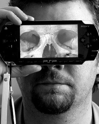 X Ray Transparent Sony PSPs