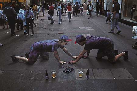 Chalk Drawing Illusions