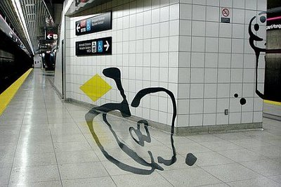 Perspective Subway Art