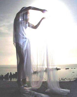 Girl Holding a Sun