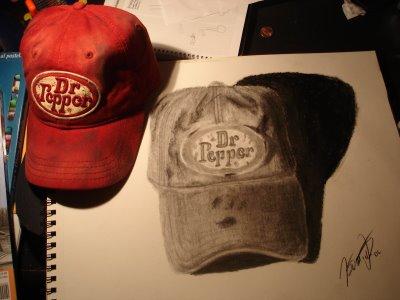 Dr Pepper Hat Illusion