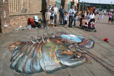 Julian Beever does His Best... Again!