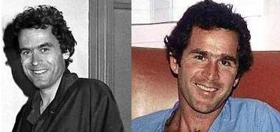 George Bush and Ted Bundy   Twins?