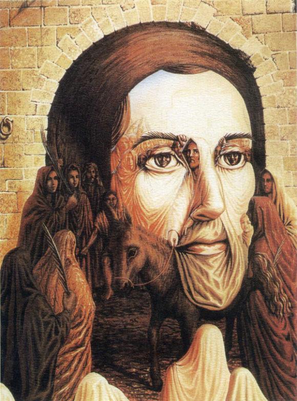 Jesus and followers illusion