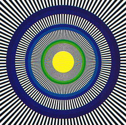 Spinning Circles Optical Illusion