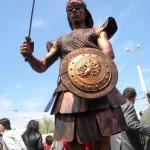 Living Statue Roman Soldier