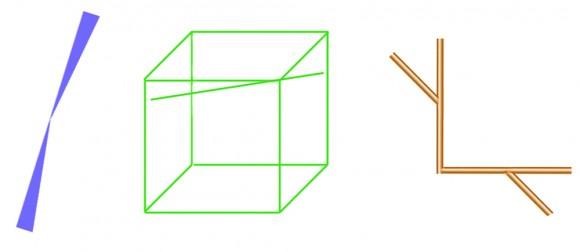 Line Optical Designory : The bourdon optical illusion