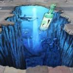 3d street painting_jinro 1