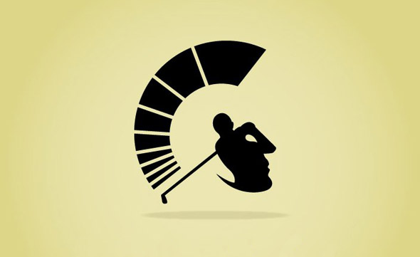 spartans golf club logo usc trojan head logo trojan head logo vector