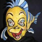 flounder face paint