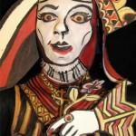 queen face paint