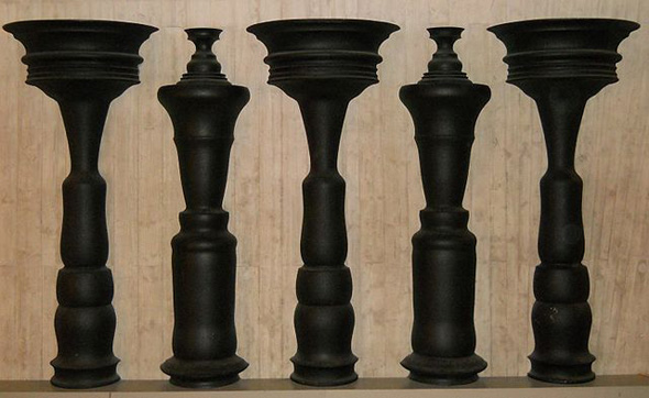 Angel Columns Optical Illusion