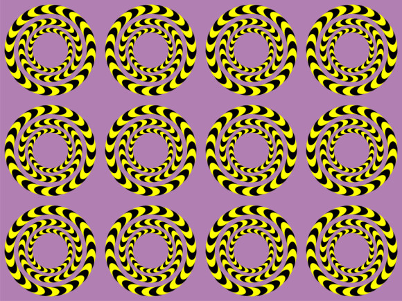 Cool Optical Illusion to fool your eyes