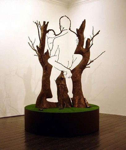 Tree Sex Optical Illusion