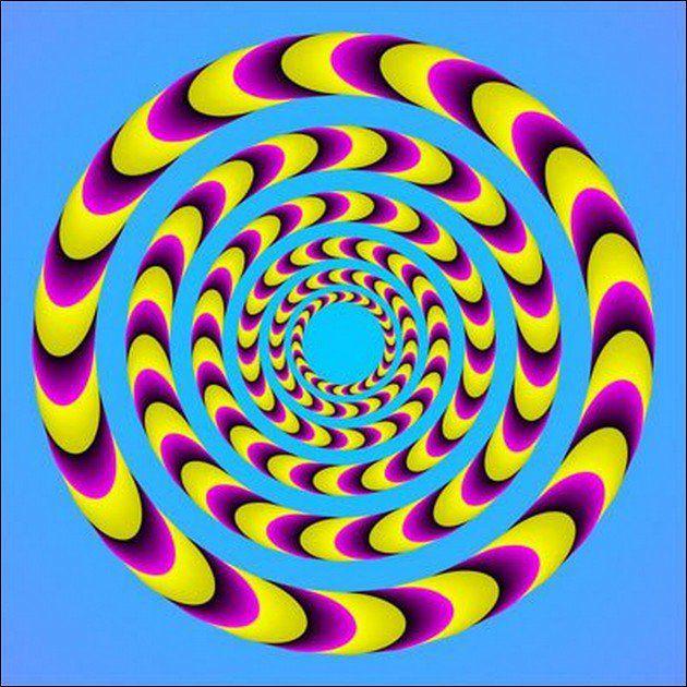 Beautiful Spiral Illusion