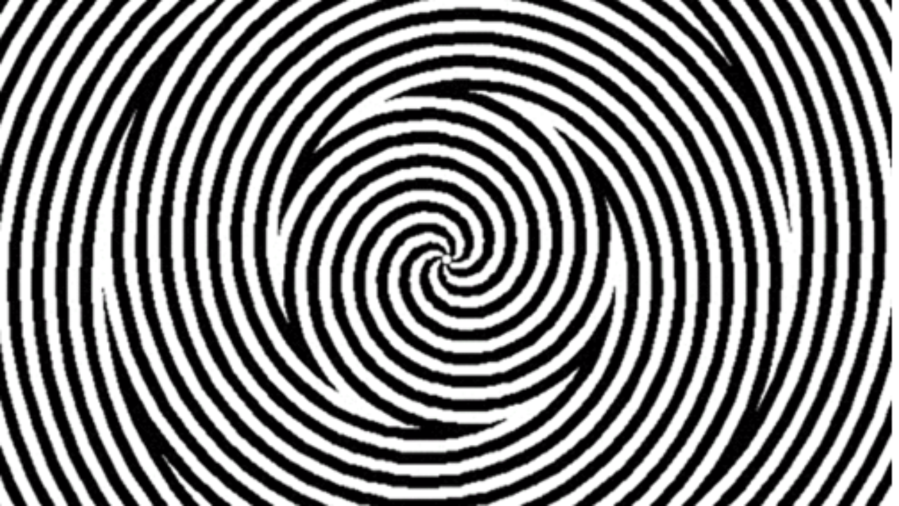 This Spinning Spiral Optical Illusion Will Blow Your Mind!