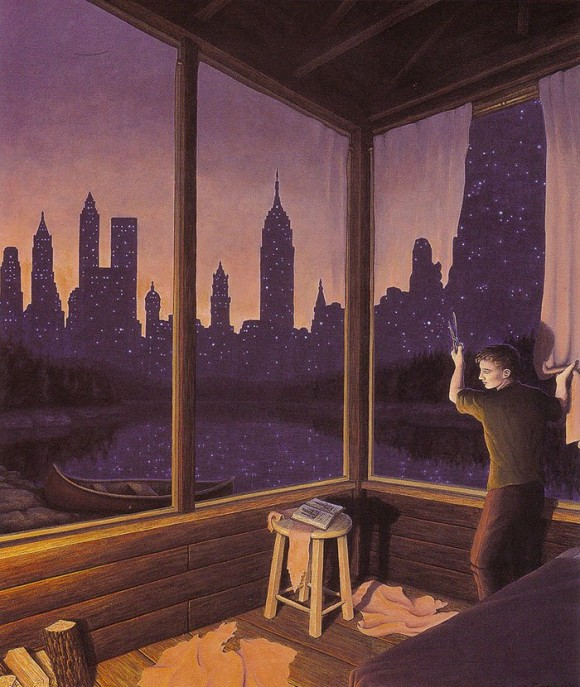 Curtain Illusion By Rob Gonsalves