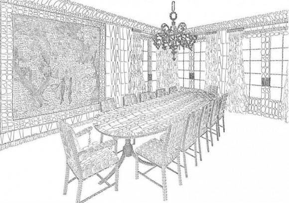 Hidden Word Room Illusion