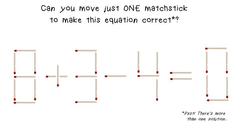 math worksheet : matchstick math brain teaser : Math Brain Teasers With Answers