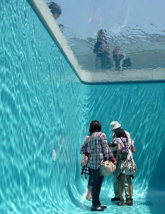 Fake Swimming Pool Illusion