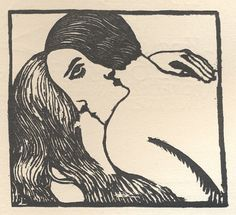 a simple lover's face illusion