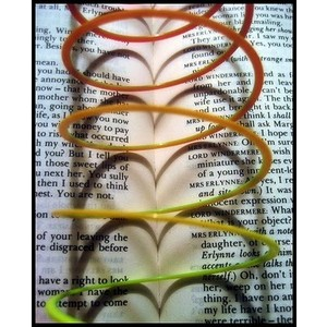 slinky book shadow illusion