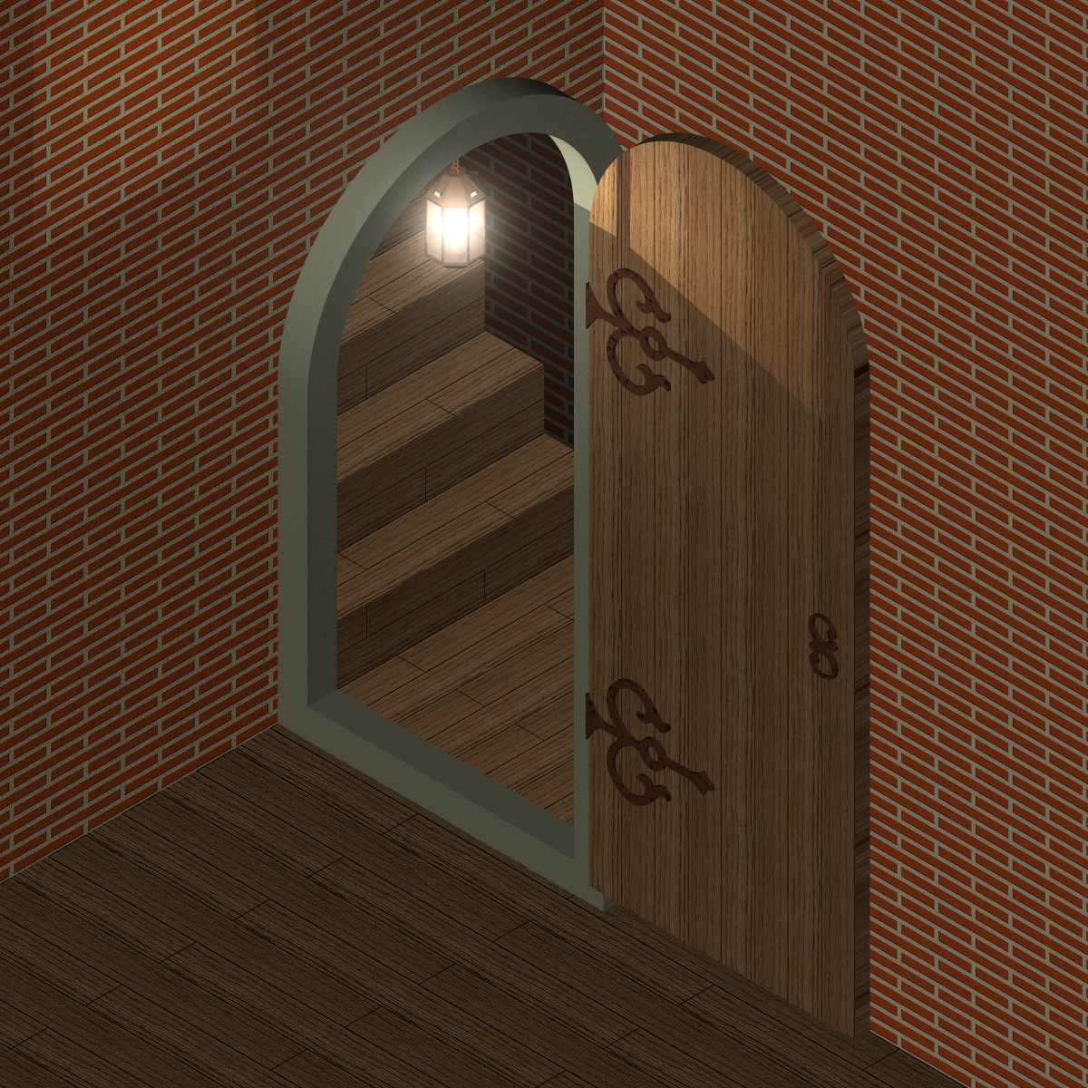 can you see the door illusion