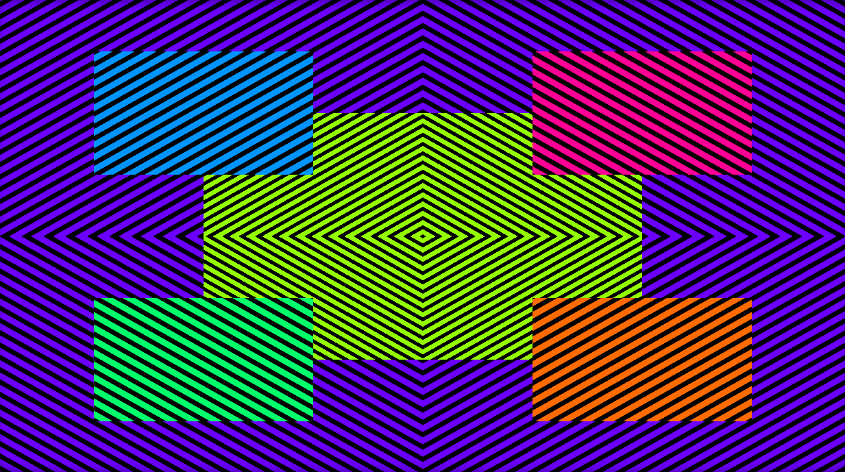 Trippy Crooked Illusion With Bonus Afterimage