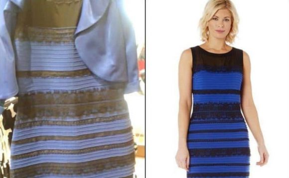 dress optical illusion