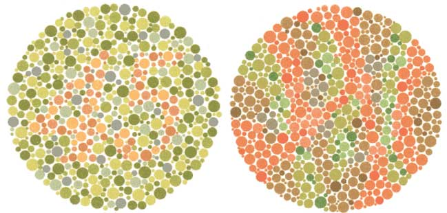 Screening Color Blind Test