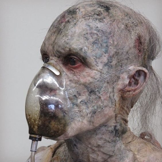 Mutated Patient-Halloween Makeup Illusion