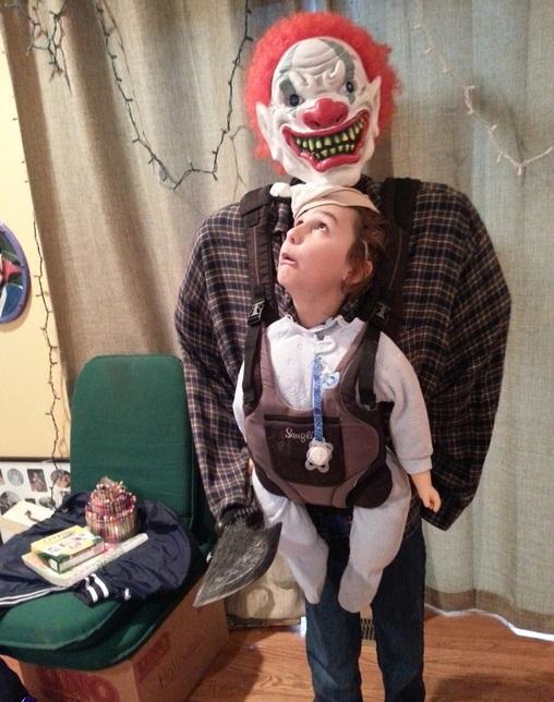 halloween costume illusion
