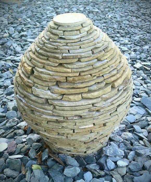stone beehive illusion