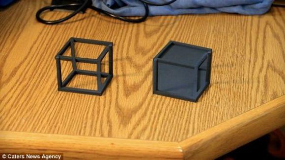 3D box illusion