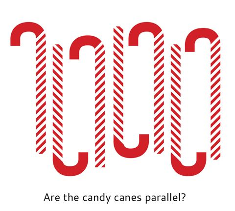 parallel candy canes