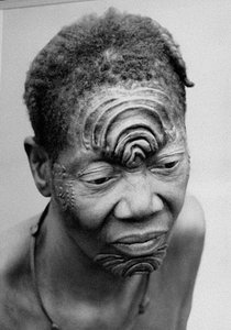 face ritual scarification
