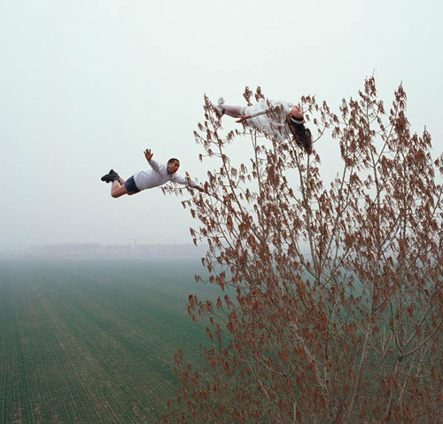 Chinese artist Li Weis Optical Illusions