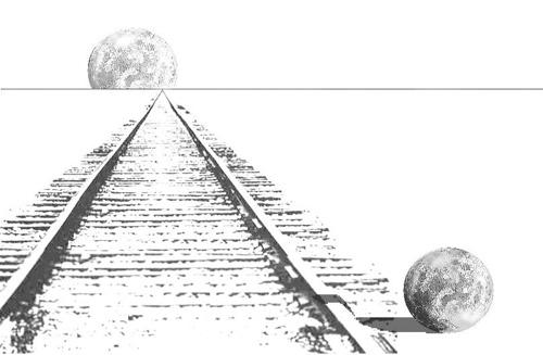 Moon Optical Illusion